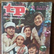 Coleccionismo de Revista Teleprograma: TP TELEPROGRAMA Nº 298, 1971- ARTICULO ESPECIAL: LA PANDILLA EN NAVIDAD DE TVE- LUIS MARIANO Y MAS... Lote 165304126