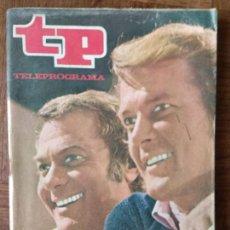 Colecionismo da Revista Teleprograma: TP TELEPROGRAMA Nº 297, 1971- ARTICULO ESPECIAL: LOS PERSUASORES, ROGER MOORE Y TONY CURTIS - Y MAS.. Lote 165304290