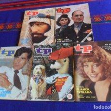 Coleccionismo de Revista Teleprograma: TP TELEPROGRAMA 859 CHICHO IBÁÑEZ SERRADOR 875 IKE 889 D'ARTACAN 912 JESÚS HERMIDA 941 MASADA.. Lote 167285052