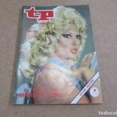 Coleccionismo de Revista Teleprograma: TP TELEPROGRAMA Nº 492 - MARUJITA DÍAZ - MILX1 300. Lote 169796312