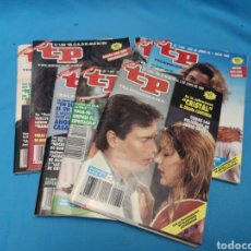 Coleccionismo de Revista Teleprograma: LOTE DE 7 REVISTAS TP TELEPROGRAMA DE 1990. Lote 169864880