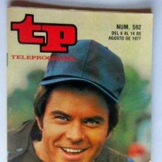 Coleccionismo de Revista Teleprograma: TELEPROGRAMA 592 DEL 8 - 14 AGOSTO 1977-EL HOMBRE GUAPO DE HARRELSON - COMO NUEVO. Lote 171236904