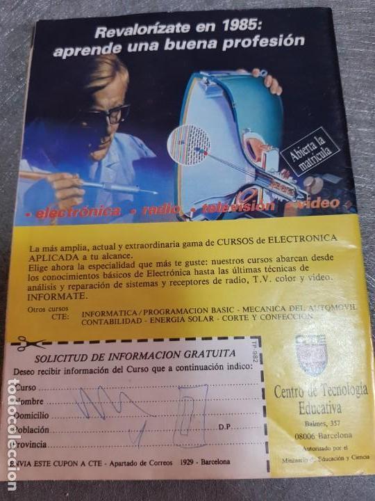 Coleccionismo de Revista Teleprograma: Teleprograma Nº 982 año 1985 - del 28 enero al 3 feb - Portada serie V Invasión de la Tierra escaso - Foto 2 - 171787260
