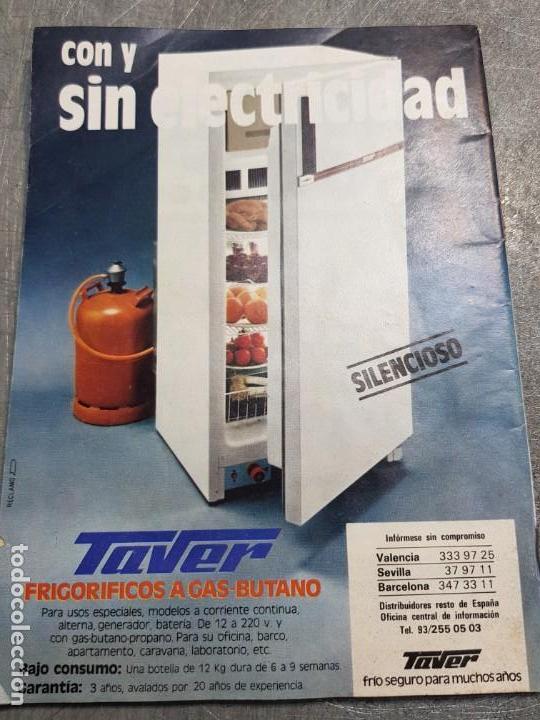 Coleccionismo de Revista Teleprograma: Teleprograma Nº 895 año 1983 - del 30 mayo al 5 junio - Portada azafatas Un ,Dos ,Tres - escaso - Foto 2 - 171795869
