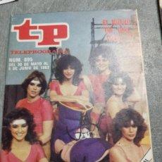 Coleccionismo de Revista Teleprograma: TELEPROGRAMA Nº 895 AÑO 1983 - DEL 30 MAYO AL 5 JUNIO - PORTADA AZAFATAS UN ,DOS ,TRES - ESCASO. Lote 171795869