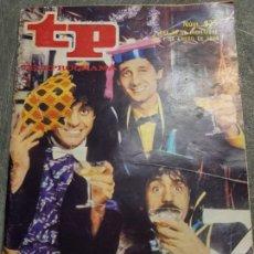 Coleccionismo de Revista Teleprograma: TELEPROGRAMA Nº 925 AÑO 1984 - DEL 26 DIC AL 1 ENERO - PORTADA MARTES Y TRECE - ESCASO. Lote 171796024