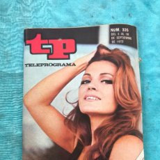 Coleccionismo de Revista Teleprograma: REVISTA TP TELEPROGRAMA Nº 335 CARMEN SEVILLA. Lote 172581023