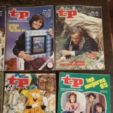 Coleccionismo de Revista Teleprograma: LOTE DE REVISTAS TP. Lote 173097963
