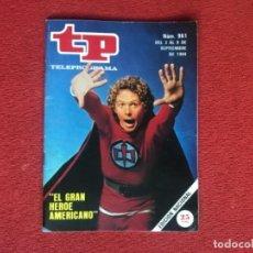 Coleccionismo de Revista Teleprograma: REVISTA TP 961 TELEPROGRAMA EL GRAN HÉROE AMERICANO 1984 . Lote 174026130