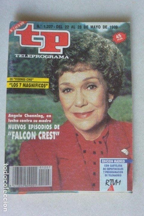 REVISTA TP 1207 FALCON CREST 1989 (Coleccionismo - Revistas y Periódicos Modernos (a partir de 1.940) - Revista TP ( Teleprograma ))