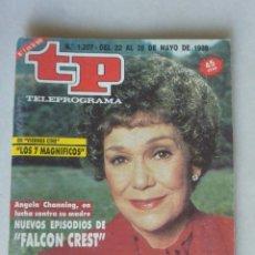 Coleccionismo de Revista Teleprograma: REVISTA TP 1207 FALCON CREST 1989. Lote 174149192