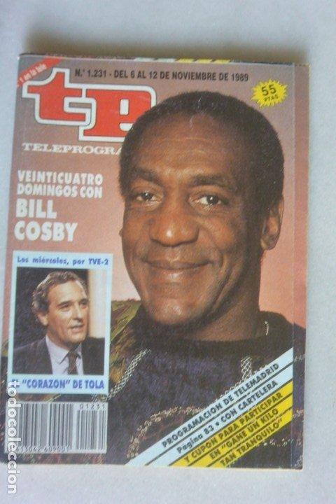 REVISTA TP, Nº 1231 DE NOV 1989 BILL COSBY (Coleccionismo - Revistas y Periódicos Modernos (a partir de 1.940) - Revista TP ( Teleprograma ))