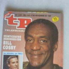 Coleccionismo de Revista Teleprograma: REVISTA TP, Nº 1231 DE NOV 1989 BILL COSBY. Lote 174150498