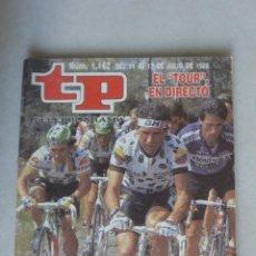 Coleccionismo de Revista Teleprograma: REVISTA TP, Nº 1162 DE JULIO 1988 EL TOUR N DIRECTO. Lote 174150769