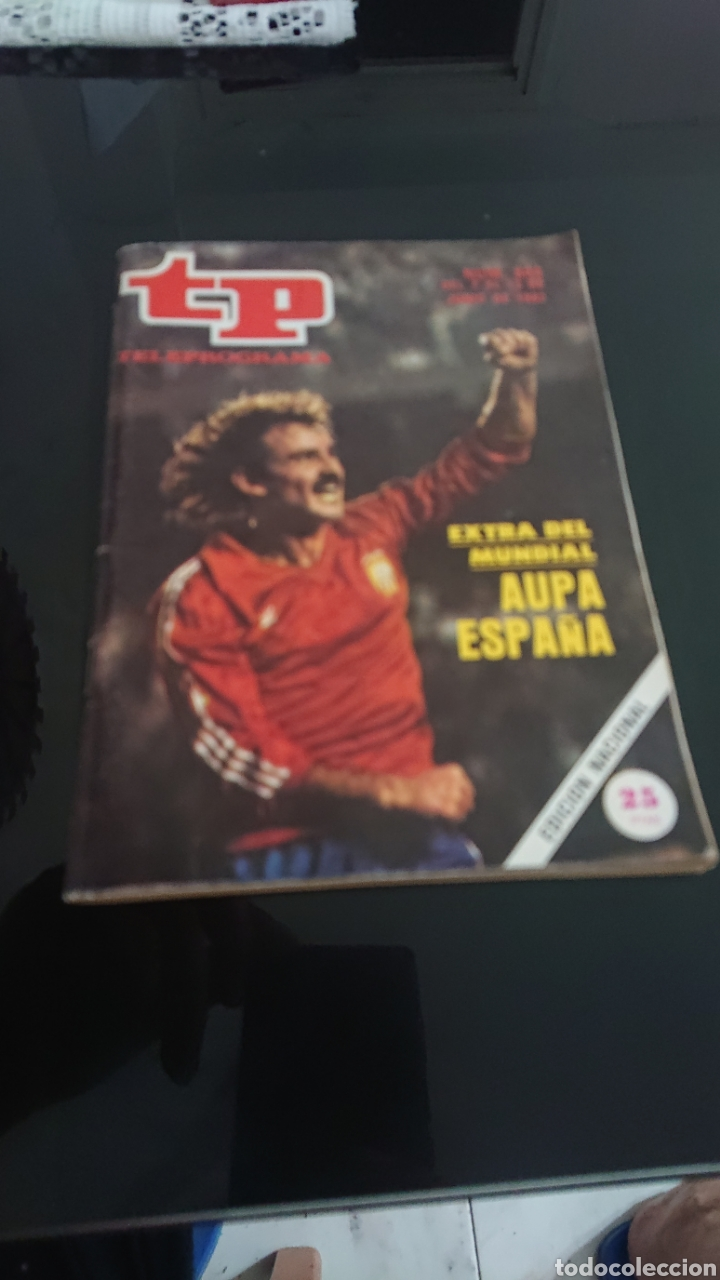 Coleccionismo de Revista Teleprograma: TP revista 844 extra del mundial 1982 - Foto 3 - 175394747