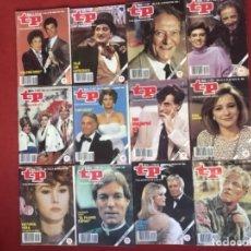 Coleccionismo de Revista Teleprograma: LOTE REVISTA TP AÑO 1988 COMPLETO 52 REVISTAS TELEPROGRAMA. Lote 177792270