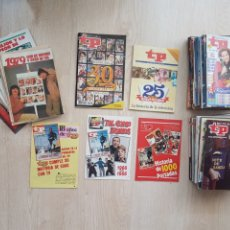 Coleccionismo de Revista Teleprograma: LOTE 62 REVISTAS TP + DISTINTOS NUM + ALGUN ESPECIAL. Lote 177871750