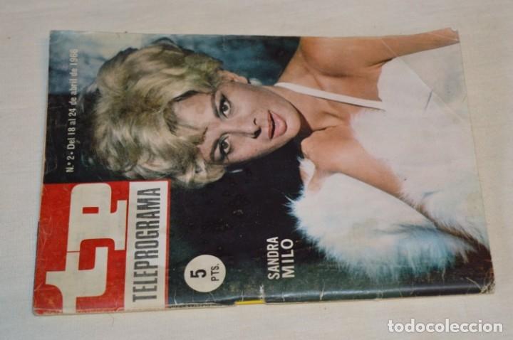 TP TELEPROGRAMA - EL NÚMERO 2 - OPORTUNIDAD, DEL 18 AL 24 DE ABRIL DE 1966 - MUY DIFÍCIL - ¡MIRA! (Coleccionismo - Revistas y Periódicos Modernos (a partir de 1.940) - Revista TP ( Teleprograma ))