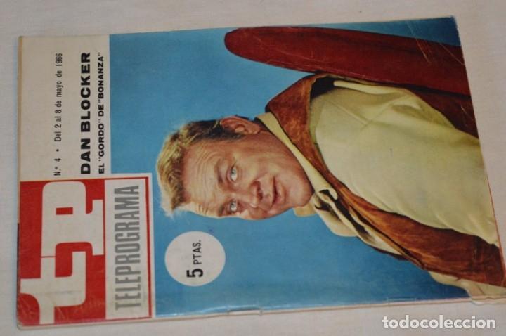 TP TELEPROGRAMA - EL NÚMERO 4 - OPORTUNIDAD, DEL 02 AL 08 DE MAYO DE 1966 - MUY DIFÍCIL - ¡MIRA! (Coleccionismo - Revistas y Periódicos Modernos (a partir de 1.940) - Revista TP ( Teleprograma ))
