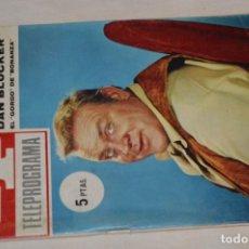 Coleccionismo de Revista Teleprograma: TP TELEPROGRAMA - EL NÚMERO 4 - OPORTUNIDAD, DEL 02 AL 08 DE MAYO DE 1966 - MUY DIFÍCIL - ¡MIRA!. Lote 177935160