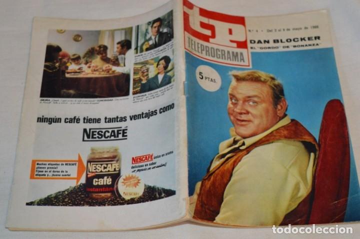 Coleccionismo de Revista Teleprograma: TP TELEPROGRAMA - El Número 4 - Oportunidad, Del 02 al 08 de Mayo de 1966 - Muy difícil - ¡Mira! - Foto 2 - 177935160