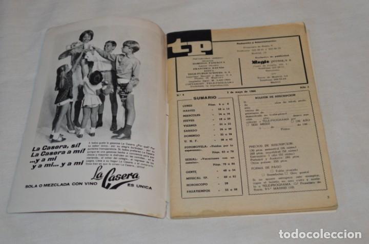 Coleccionismo de Revista Teleprograma: TP TELEPROGRAMA - El Número 4 - Oportunidad, Del 02 al 08 de Mayo de 1966 - Muy difícil - ¡Mira! - Foto 5 - 177935160