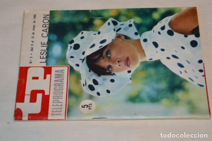 TP TELEPROGRAMA - EL NÚMERO 5 - OPORTUNIDAD, DEL 09 AL 15 DE MAYO DE 1966 - MUY DIFÍCIL - ¡MIRA! (Coleccionismo - Revistas y Periódicos Modernos (a partir de 1.940) - Revista TP ( Teleprograma ))