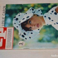 Coleccionismo de Revista Teleprograma: TP TELEPROGRAMA - EL NÚMERO 5 - OPORTUNIDAD, DEL 09 AL 15 DE MAYO DE 1966 - MUY DIFÍCIL - ¡MIRA!. Lote 177935604