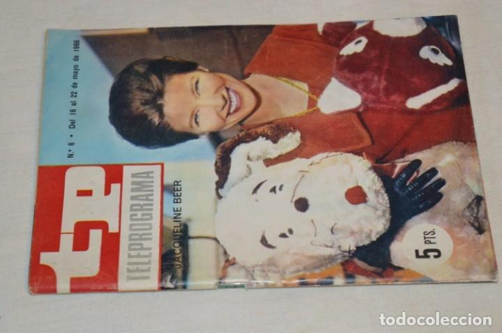 TP TELEPROGRAMA - EL NÚMERO 6 - OPORTUNIDAD, DEL 16 AL 22 DE MAYO DE 1966 - MUY DIFÍCIL - ¡MIRA! (Coleccionismo - Revistas y Periódicos Modernos (a partir de 1.940) - Revista TP ( Teleprograma ))