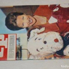 Coleccionismo de Revista Teleprograma: TP TELEPROGRAMA - EL NÚMERO 6 - OPORTUNIDAD, DEL 16 AL 22 DE MAYO DE 1966 - MUY DIFÍCIL - ¡MIRA!. Lote 177936033