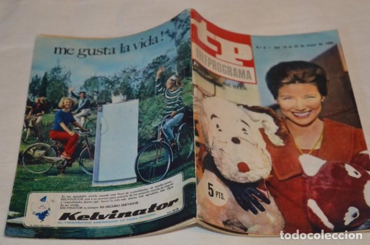 Coleccionismo de Revista Teleprograma: TP TELEPROGRAMA - El Número 6 - Oportunidad, Del 16 al 22 de Mayo de 1966 - Muy difícil - ¡Mira! - Foto 2 - 177936033