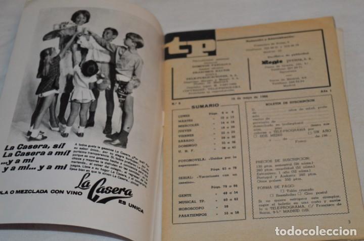 Coleccionismo de Revista Teleprograma: TP TELEPROGRAMA - El Número 6 - Oportunidad, Del 16 al 22 de Mayo de 1966 - Muy difícil - ¡Mira! - Foto 4 - 177936033