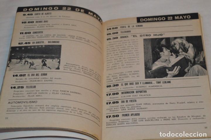 Coleccionismo de Revista Teleprograma: TP TELEPROGRAMA - El Número 6 - Oportunidad, Del 16 al 22 de Mayo de 1966 - Muy difícil - ¡Mira! - Foto 5 - 177936033
