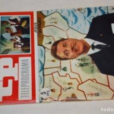 Coleccionismo de Revista Teleprograma: TP TELEPROGRAMA - EL NÚMERO 9 - OPORTUNIDAD, DEL 06 AL 12 DE JUNIO 1966 - MUY DIFÍCIL - ¡MIRA!. Lote 177938108