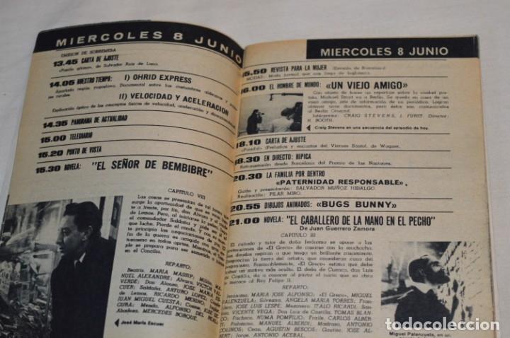 Coleccionismo de Revista Teleprograma: TP TELEPROGRAMA - El Número 9 - Oportunidad, Del 06 al 12 de Junio 1966 - Muy difícil - ¡Mira! - Foto 5 - 177938108