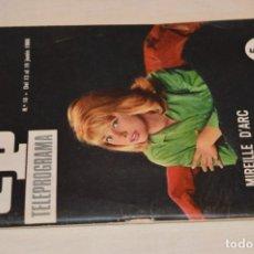 Coleccionismo de Revista Teleprograma: TP TELEPROGRAMA - EL NÚMERO 10 - OPORTUNIDAD, DEL 13 AL 19 DE JUNIO 1966 - MUY DIFÍCIL - ¡MIRA!. Lote 177938557
