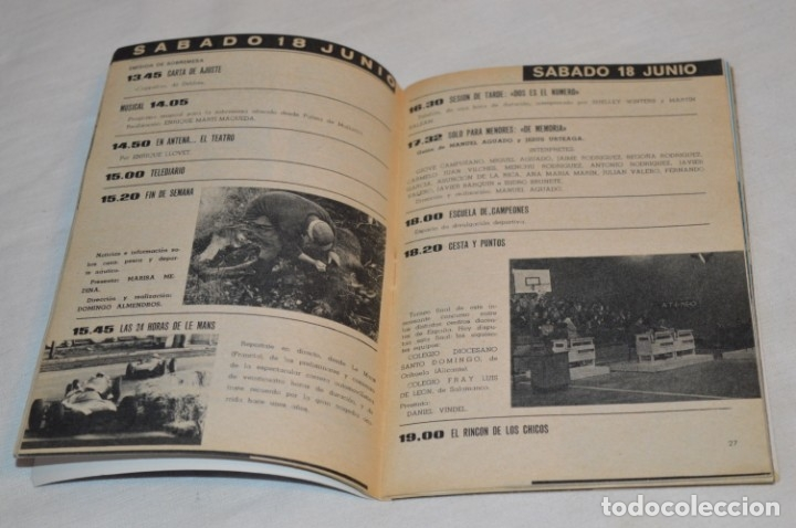 Coleccionismo de Revista Teleprograma: TP TELEPROGRAMA - El Número 10 - Oportunidad, Del 13 al 19 de Junio 1966 - Muy difícil - ¡Mira! - Foto 4 - 177938557
