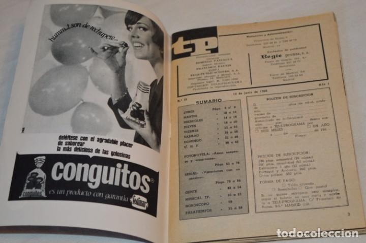 Coleccionismo de Revista Teleprograma: TP TELEPROGRAMA - El Número 10 - Oportunidad, Del 13 al 19 de Junio 1966 - Muy difícil - ¡Mira! - Foto 5 - 177938557