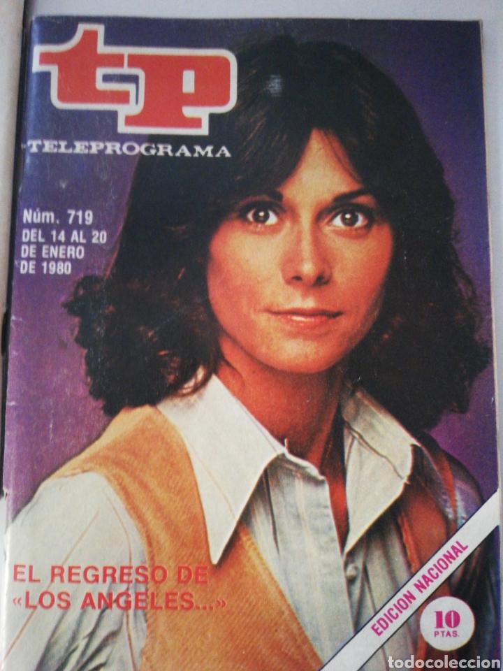 TELEPOGRAMA 719 DE 1980 (Coleccionismo - Revistas y Periódicos Modernos (a partir de 1.940) - Revista TP ( Teleprograma ))