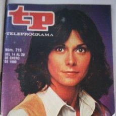 Coleccionismo de Revista Teleprograma: TELEPOGRAMA 719 DE 1980. Lote 178213520