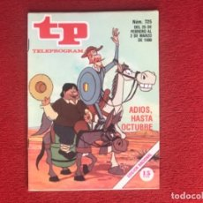 Coleccionismo de Revista Teleprograma: TP 725 DON QUIJOTE 1980 . Lote 178326100