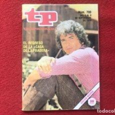 Coleccionismo de Revista Teleprograma: TP 700 LA CASA DE LA PRADERA 1979. Lote 178327478