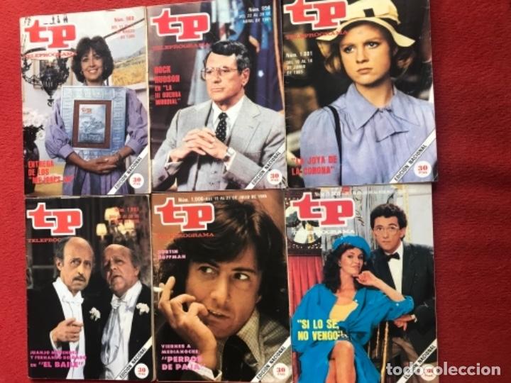 LOTE 22 REVISTAS TP DE 1985 TELEPROGRAMA (Coleccionismo - Revistas y Periódicos Modernos (a partir de 1.940) - Revista TP ( Teleprograma ))