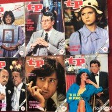 Coleccionismo de Revista Teleprograma: LOTE 22 REVISTAS TP DE 1985 TELEPROGRAMA. Lote 178332892