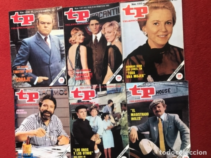 Coleccionismo de Revista Teleprograma: Lote 22 revistas Tp de 1985 teleprograma - Foto 2 - 178332892