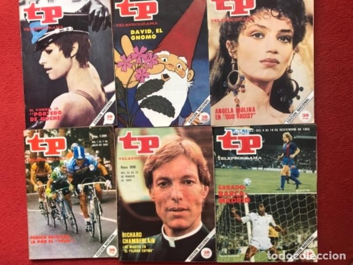 Coleccionismo de Revista Teleprograma: Lote 22 revistas Tp de 1985 teleprograma - Foto 3 - 178332892