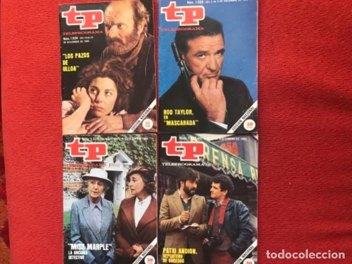 Coleccionismo de Revista Teleprograma: Lote 22 revistas Tp de 1985 teleprograma - Foto 4 - 178332892