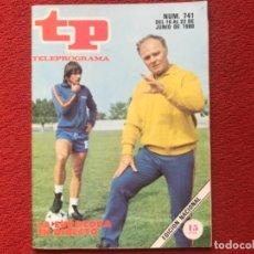 Coleccionismo de Revista Teleprograma: TP 741 EUROCOPA 1980. Lote 178334746