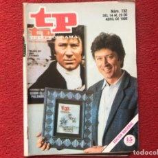 Colecionismo da Revista Teleprograma: TP 732 POLDARK 1980. Lote 178334830