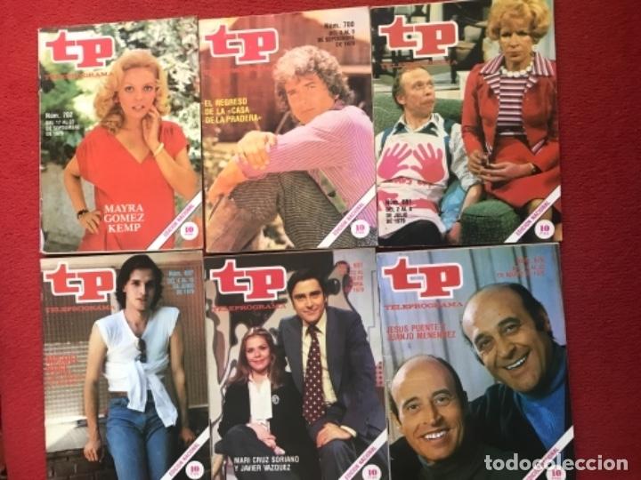 LOTE 12 REVISTAS TP 1979 REVISTA TELEPROGRAMA (Coleccionismo - Revistas y Periódicos Modernos (a partir de 1.940) - Revista TP ( Teleprograma ))
